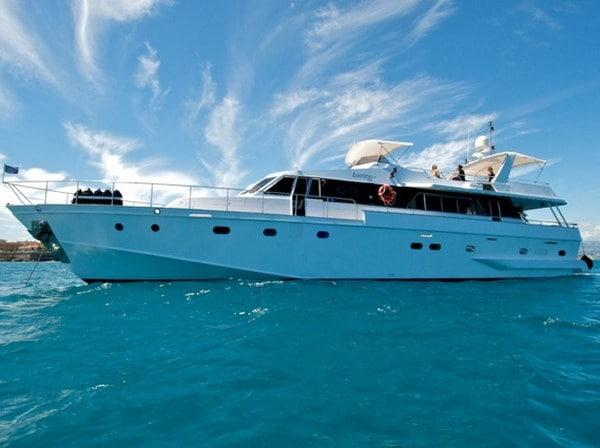 Aménagement du yacht